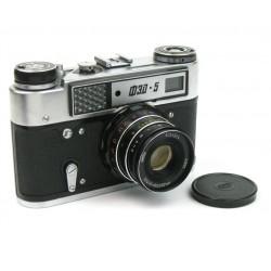 Fotoaparát FED 5 čierny/chróm