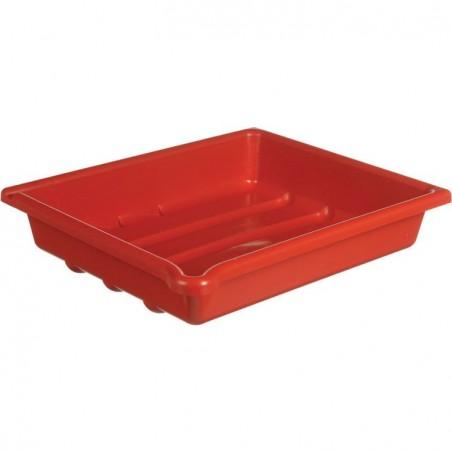 Fotomiska 20 x 25 x 6 cm červená