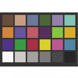 Farebná kalibračná tabuľka...