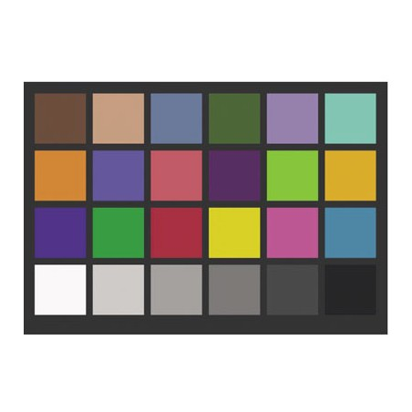 Farebná kalibračná tabuľka 13x18 cm + CD