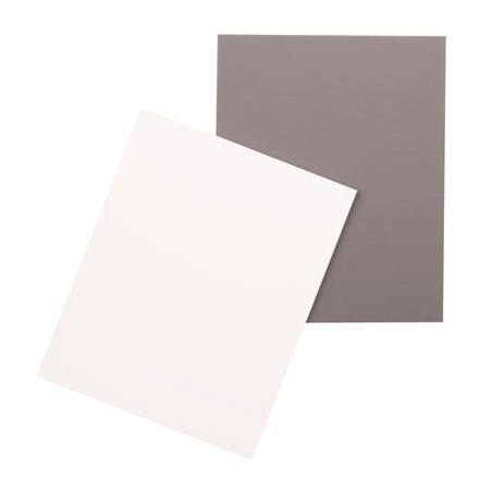 18% šedá tabuľka 10x12,5 cm
