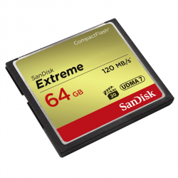 SanDisk Extreme CF 64 GB...