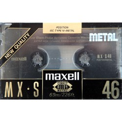 MAXELL MX-S Metal 46...