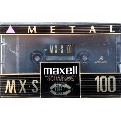 MAXELL MX-S Metal 100...