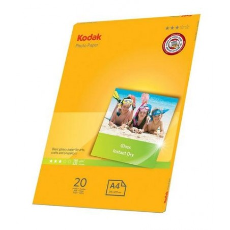 KODAK Photo Gloss 180g A4, 20 listov