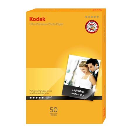 KODAK Ultra Premium High Gloss 280g 10x15, 50 listov