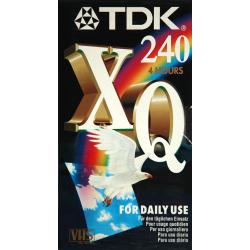 TDK, E - 240 XQ VHS