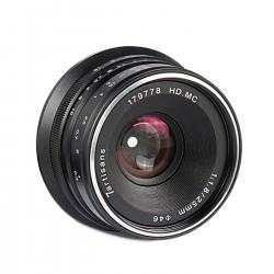 7Artisans 25mm f/1,8 MFT