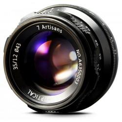 7Artisans 35mm f/1,2 pre MFT