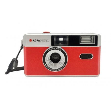 AgfaPhoto fotoaparát pre kinofilm, červený