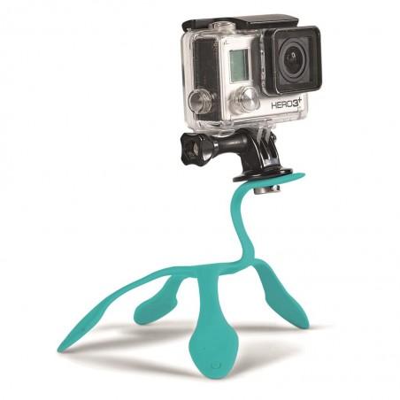 Miggö GoPro Splat flexi ministatív, modrý
