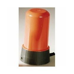 Lampa do fotokomory oranžová